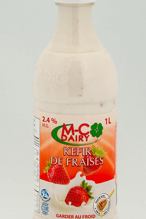Strawberry Kefir, 1L