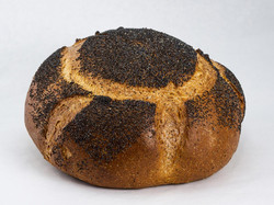 Poppyseed Round Rye Bread
