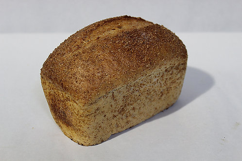 Whole Wheat Sourdough Bread Mini Loaf