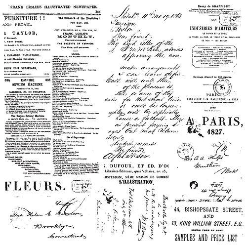 Letters: Décor Stamps