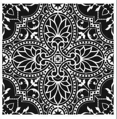 Stencil: Tile/Wall/Backsplash: 40cm x 40cm
