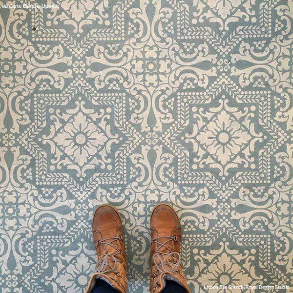 Tiled floor 2
