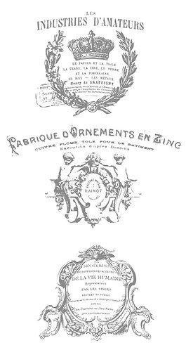 French Pots 3 (8.5inch x 17inch)