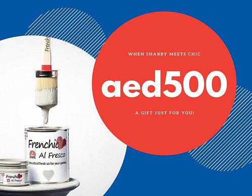 Gift Voucher: Aed500