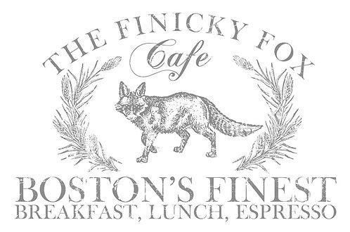 Finicky Fox (36inch x 24inch)