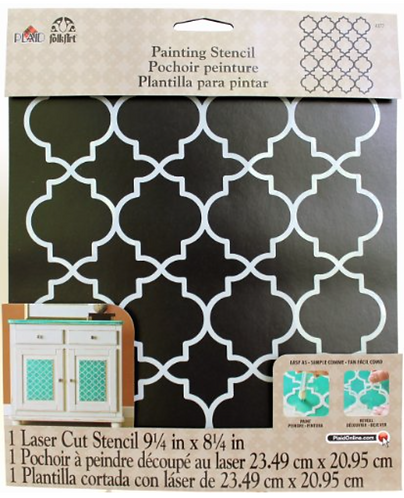 Stencil: Moroccan Tile 21cm x 23cm