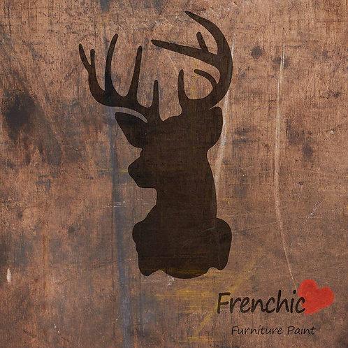 Stencil: Royal Stag: 21cm X 29.7cm: Frenchic