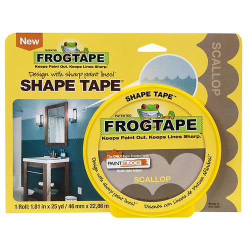 FrogTape, Scallop Design, 1.8inch