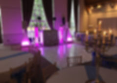 a j wedding events Elegant Disco with re