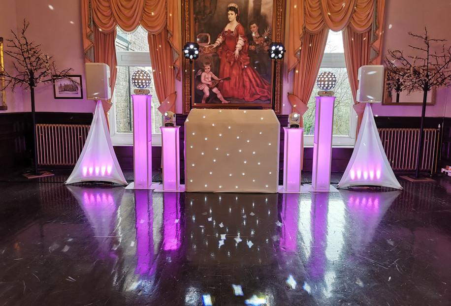 Wedding DJ V.I.P Setup @ Craig-Y-Nos Castle.jpg