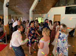 Full Dance Floor @ Canada Lake Lodge