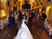 first dance floor at miskin manor