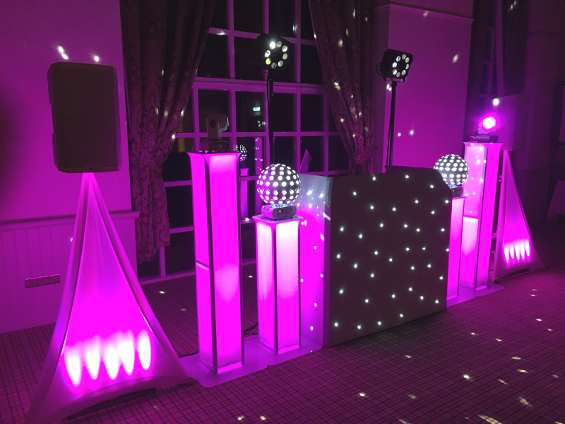 Wedding DJ V.I.P Setup @ The Heritage Park Hotel
