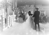 DJ, Dance Floor, Love Letters, Dancing on the Clouds, dry ice low fog hire south wales _ t