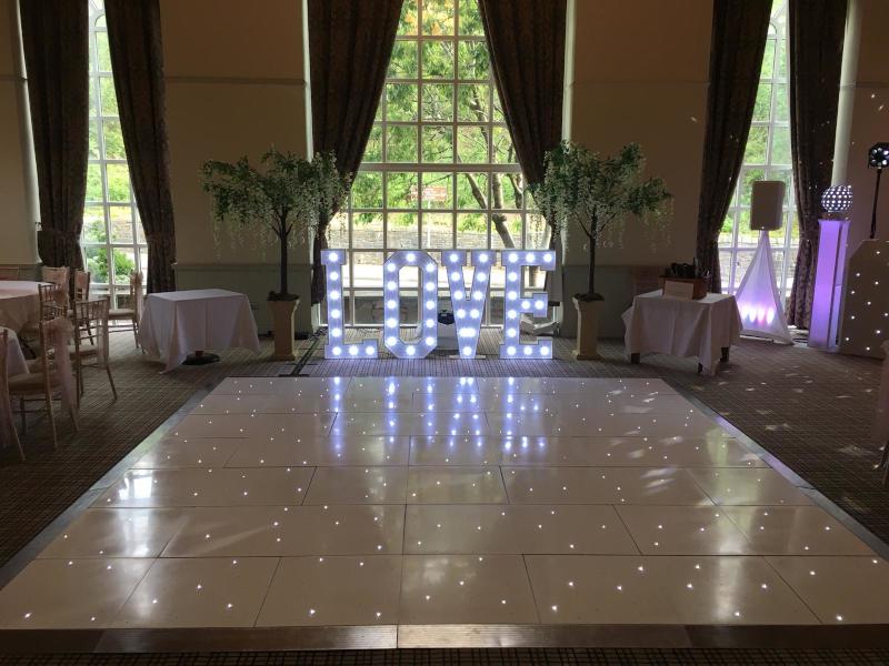 dance floor & love letters