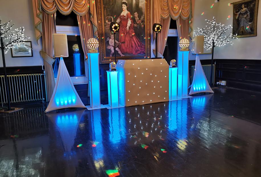 Wedding DJ V.I.P Setup @ Craig-Y-Nos Castle