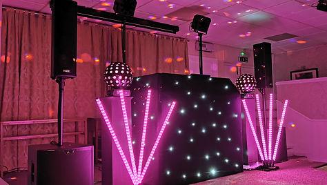black mobile disco & DJ Hire Cardiff sou