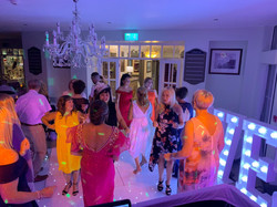 Full Dance Floor @ Fairways Hotel in Por