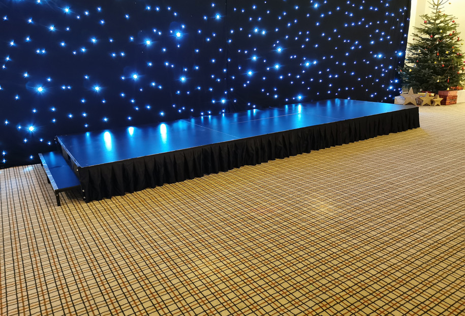 Mobile Stage Hire Caerphilly south Wales A J Events Services