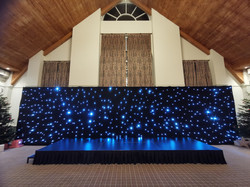 6m x 2m Mobile stage deck and 12m x 3m s