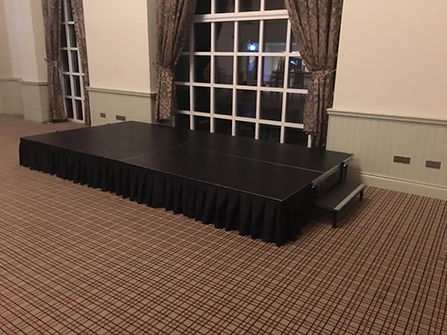 stage hire background south wales stage step stage skirt rental