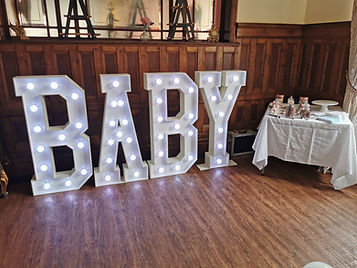 Baby light up letter hire south wales luminated letters.jpg