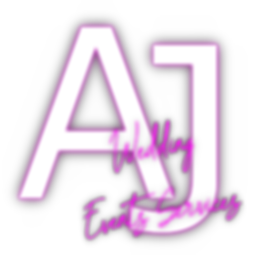 A J Wedding Events Services Logo (blur)(