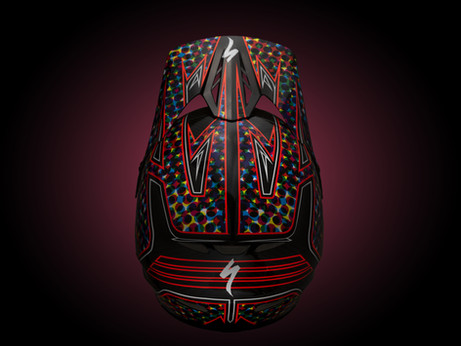 Studio Product Photography | Specialized Dissident Full-Face helmet