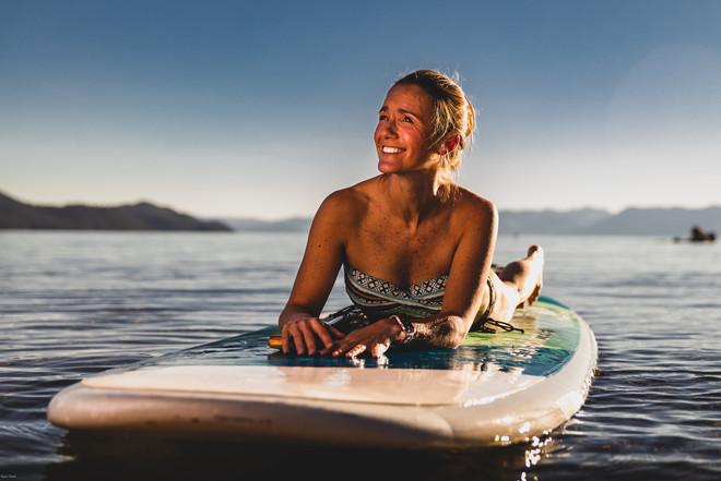 Portrait   Paddleboard Shoot