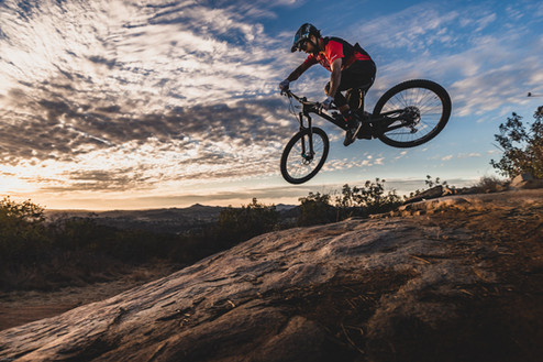 Mountain Bike Photography: Pro mountain biker, Austin Warren | San Diego, CA