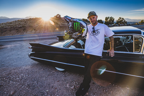 Athletic Portrait Photography: Freeride mountain biker, Cam Zink | Reno, NV