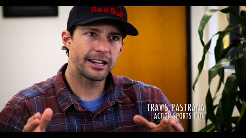 """Travis Pastrana describes action sports risk in """"Reach For The Sky."""""""