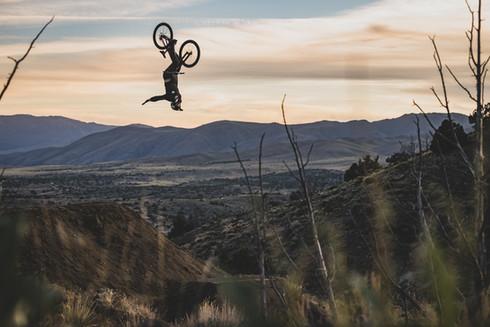 Freeride Mountain Bike Photography | Pro mountain biker Cade Brock | Reno, NV