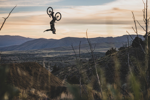 Mountain Bike Photography: Pro mountain biker Cade Brock | Reno, NV