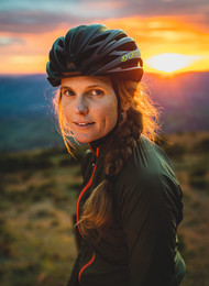 Athletic Portrait Photography | Bikepacking Cyclist