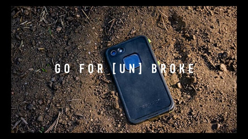 Lifeproof phone case commercial with Cam Zink