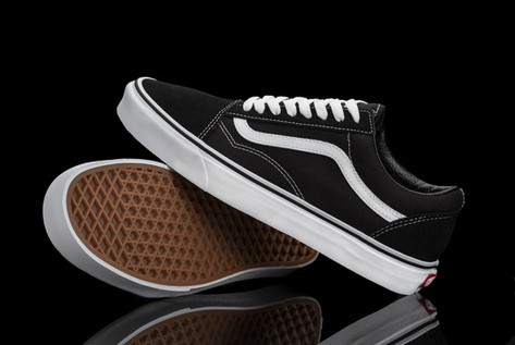 Studio Product Photography | Old School Vans