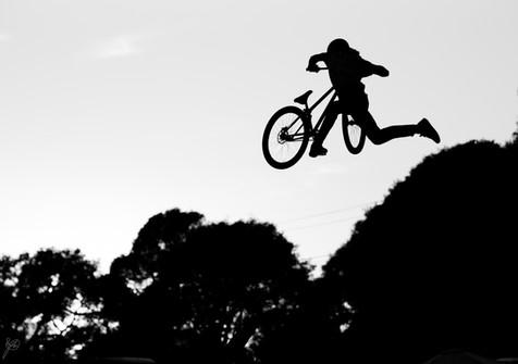Mountain Bike Photography | Pro mountain biker in Santa Cruz, CA.