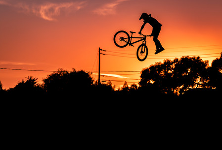 Mountain Bike Photography: Pro freerider, Cam McCaul | Santa Cruz, CA
