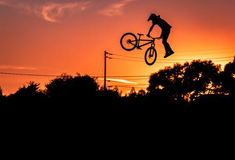 Mountain Bike Photography: Pro freerider, Cam McCaul | Santa Cruz, CA