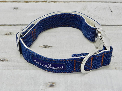 Recycled Denim Collar