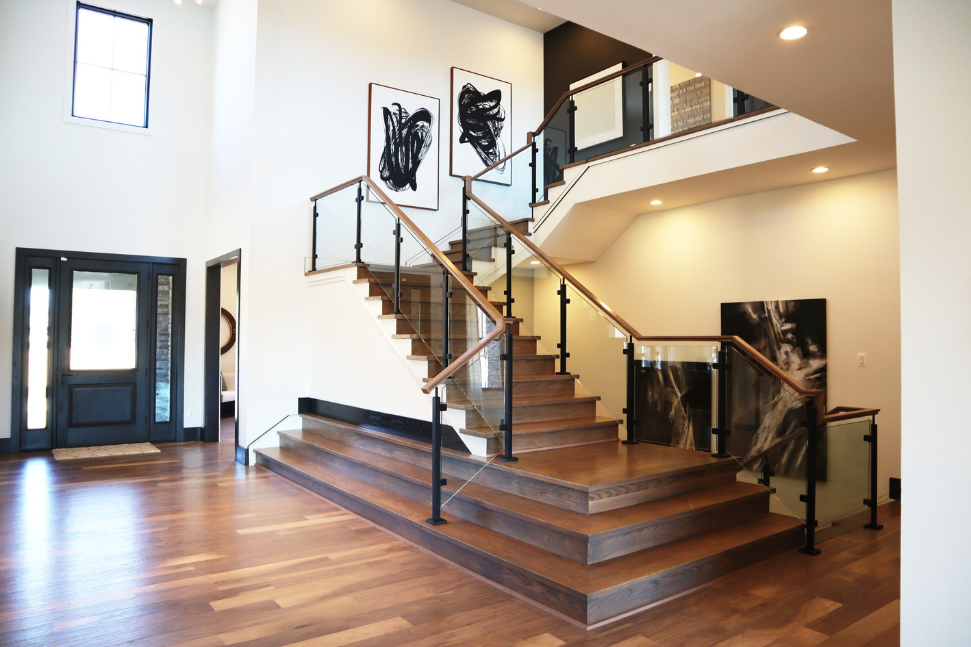 Modern rails and stairs