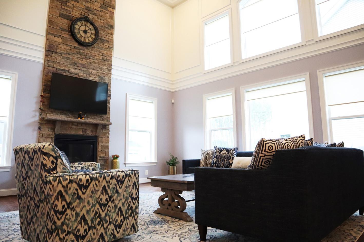 Fancy living room