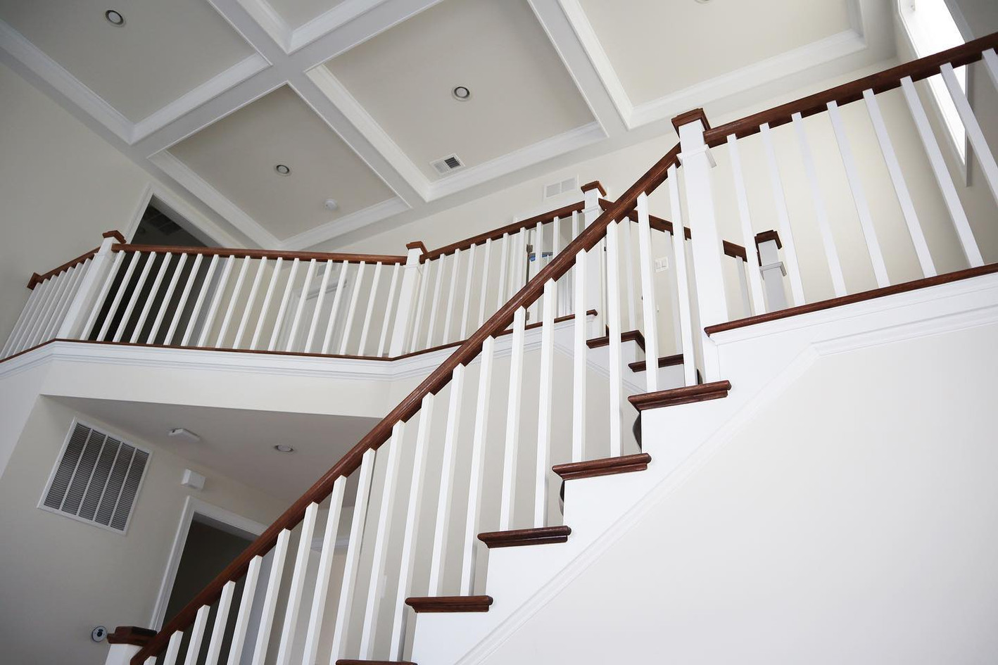 Stairs and rails