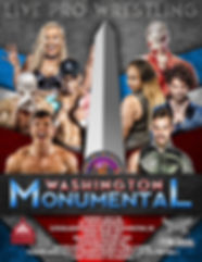PTProWrestles Washington Monumental