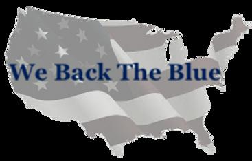 We Back The Blue