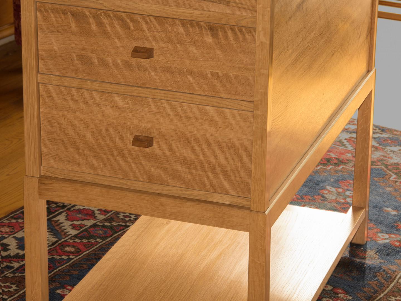 White Oak Change Table