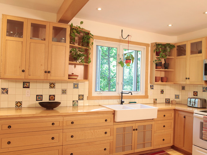 Arts & Crafts Oak Kitchen