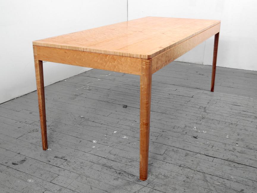 Birdseye Maple Table