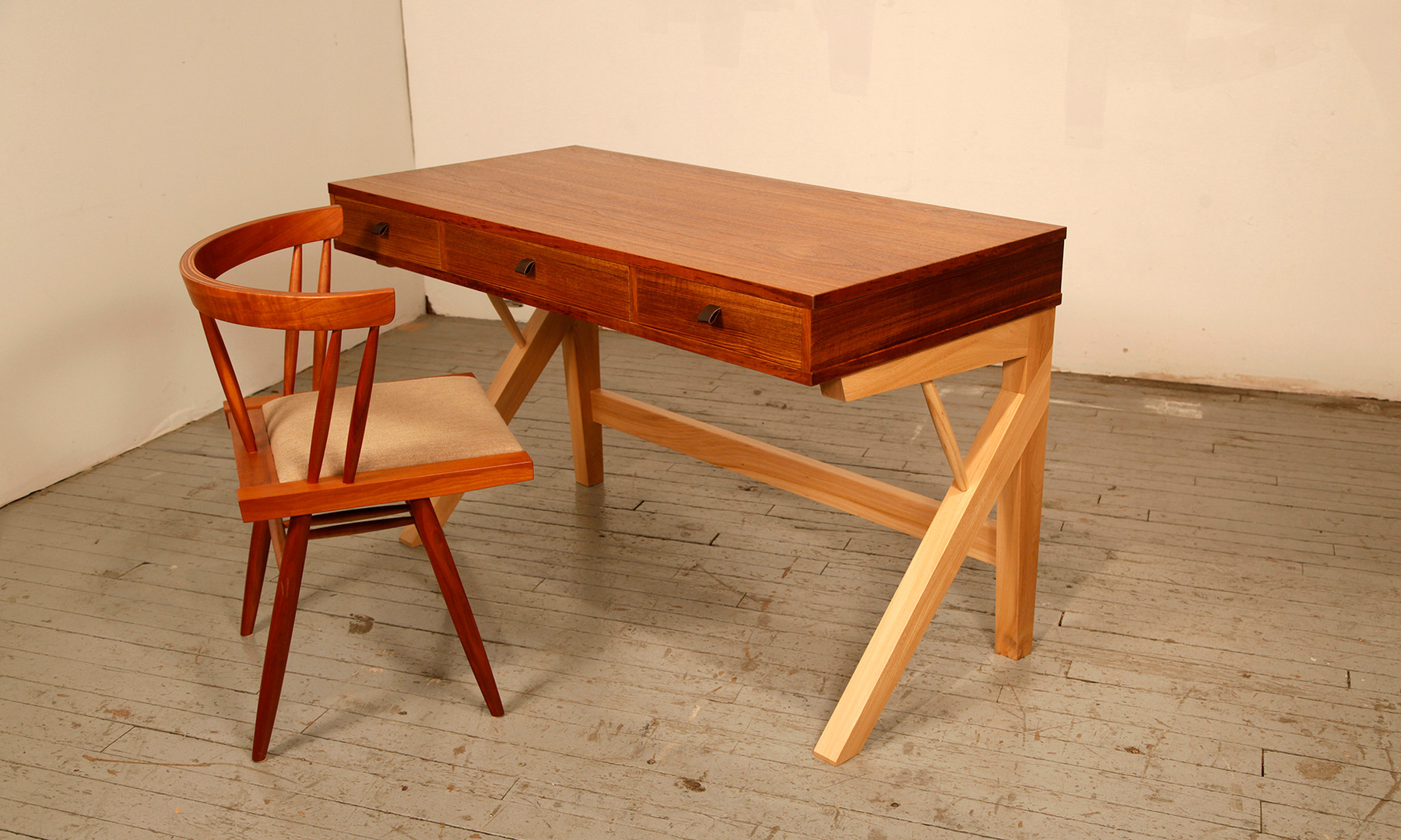 Teak & Elm Desk